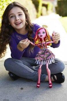 Monster High Gooliope Jellington papusa uriasa Mattel