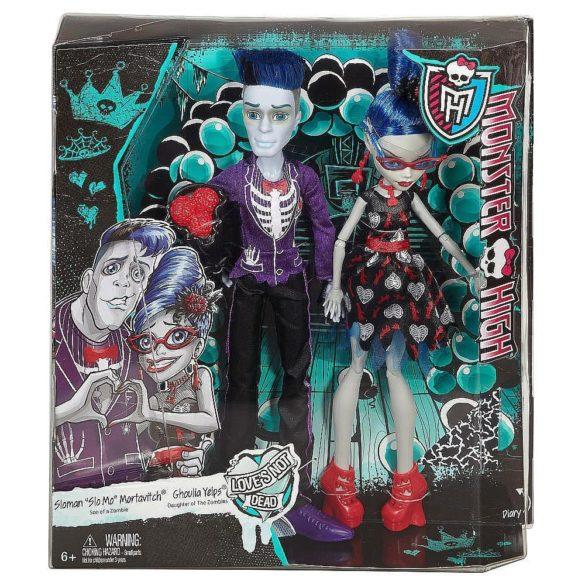 Monster High Set de Papusi Ghoulia si Sloman 8