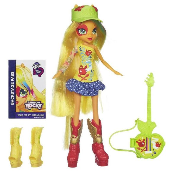 My Little Pony Equestria Girls Deluxe Papusa Applejack 1