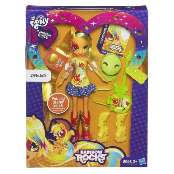 My Little Pony Equestria Girls Deluxe Papusa Applejack 2