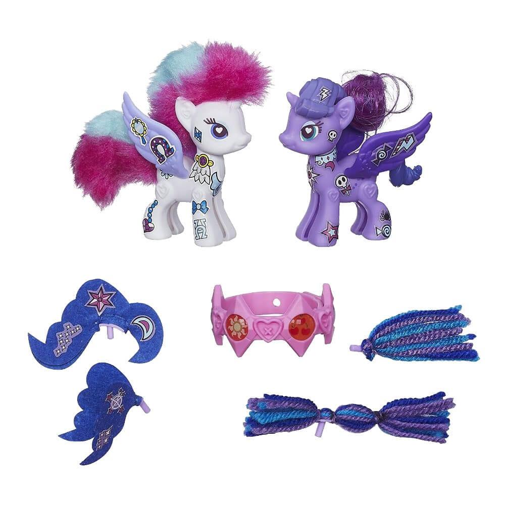 My Little Pony Pop Printesa Rarity si Luna