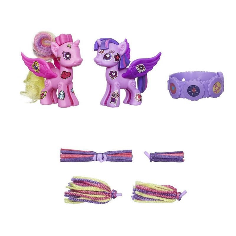 My Little Pony Pop Printesa Twilight si Cadance