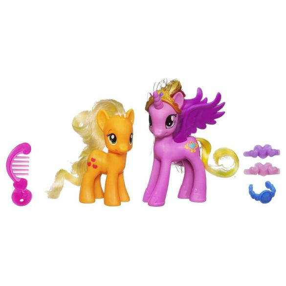 My Little Pony Printesa Cadance si Applejack 1