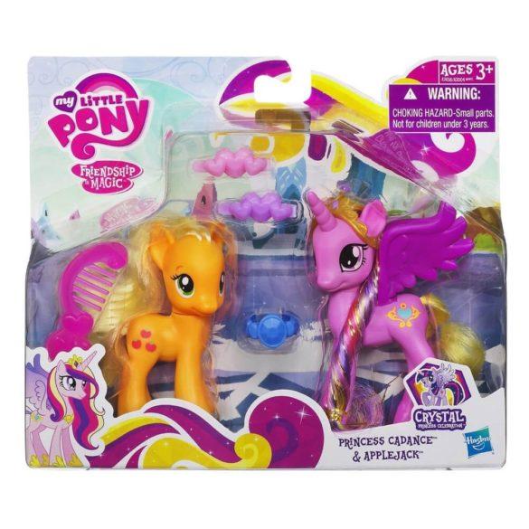 My Little Pony Printesa Cadance si Applejack 2