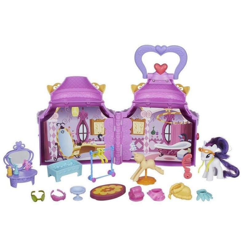 My Little Pony Rarity set de joaca casuta transportabila