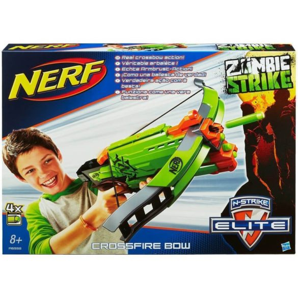 Nerf Zombie Strike Crossfire Bow 5