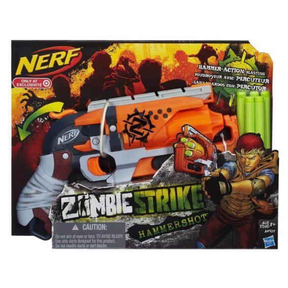 Nerf Zombie Strike Hammershot Blaster 2