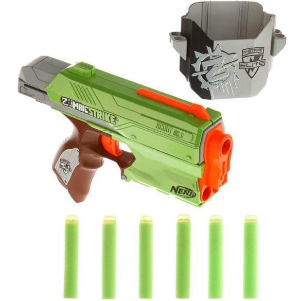 Nerf Zombie Strike Pistol Sidestrike Blaster 2