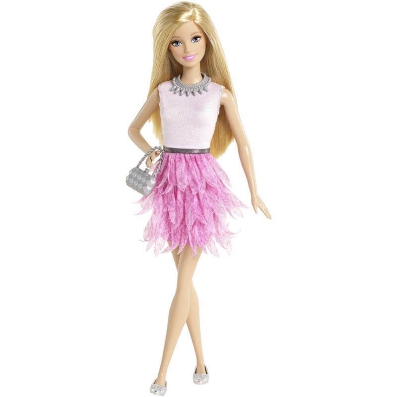 Papusa Barbie Fashionistas Petale Roz