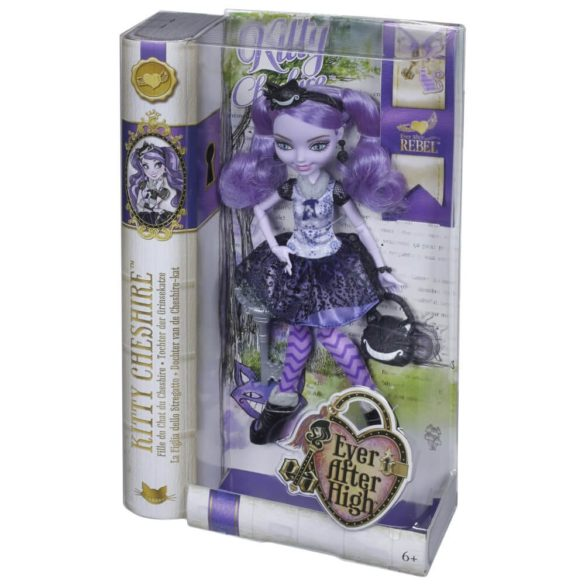Papusa Ever After High Kitty Cheshire 5