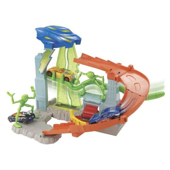 Pista Hot Wheels City Turbo Abduction 4