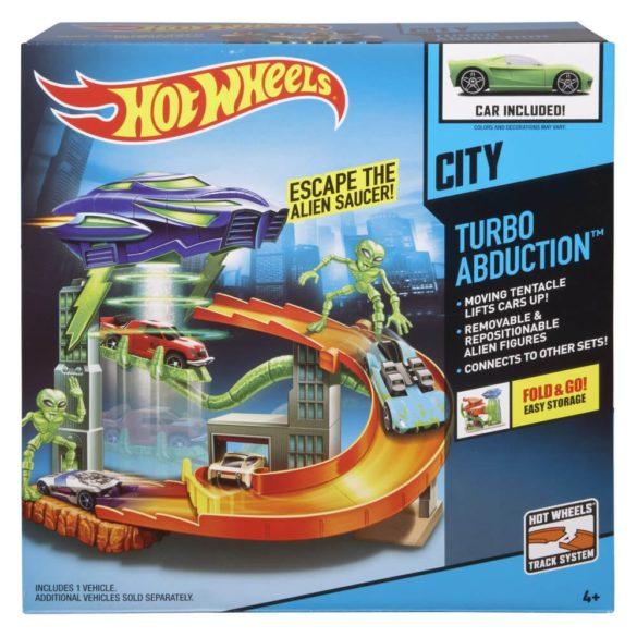 Pista Hot Wheels City Turbo Abduction 6