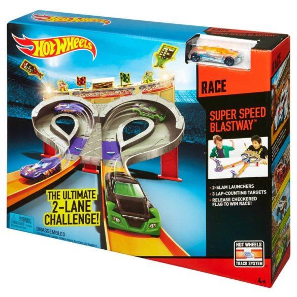 Pista Hot Wheels Super Speed Race 6