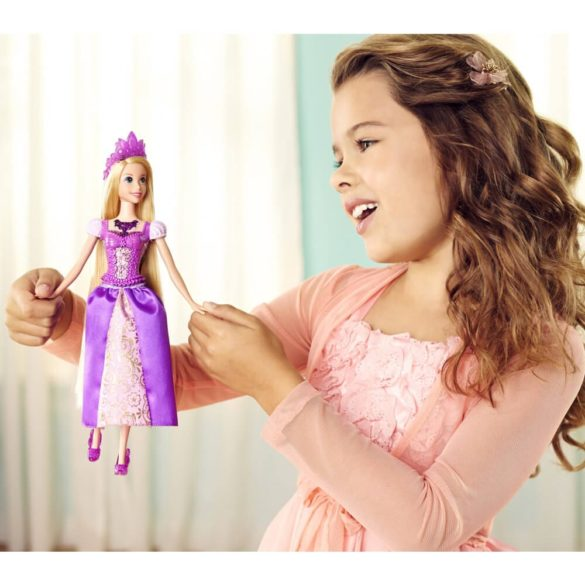 Printesele Disney Stralucitoare Papusa Rapunzel Cu Lumini 2