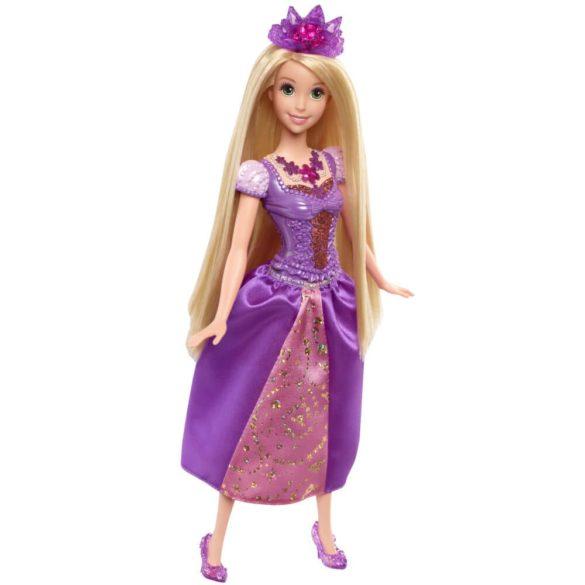 Printesele Disney Stralucitoare Papusa Rapunzel Cu Lumini 4