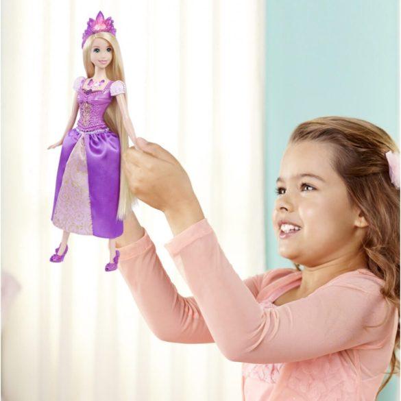Printesele Disney Stralucitoare Papusa Rapunzel Cu Lumini 5