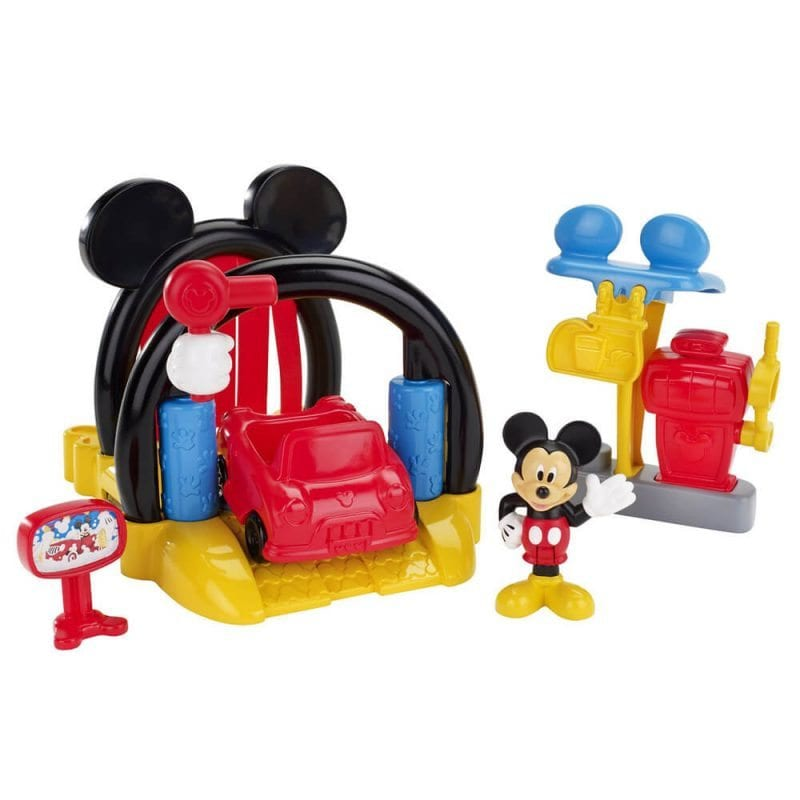 Fisher-Price Set De Joaca Spalatorie Masini Mickey Mouse