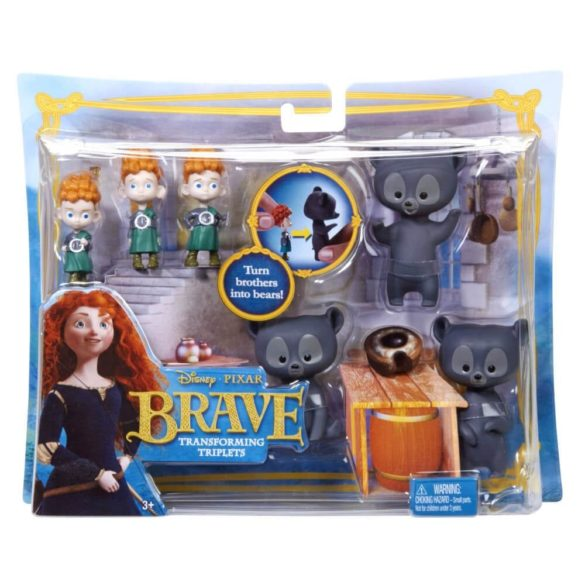Set de joaca Disney Pixar Tripletii ce se Transforma 6