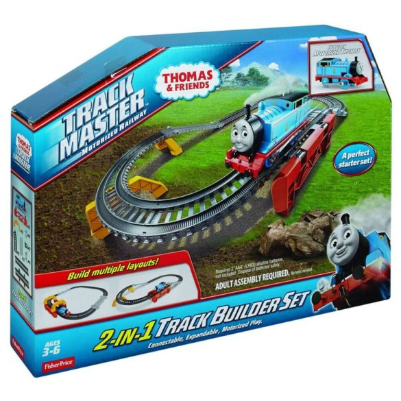Thomas Friends Set 2 In 1 Track Builder 6
