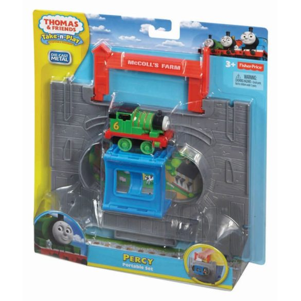 Thomas Friends Set Portabil Cu Percy Take N Play 4