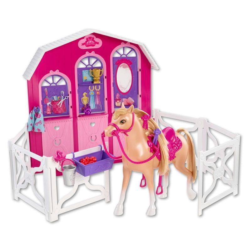 Accesorii Barbie - Surorile si Grajdul