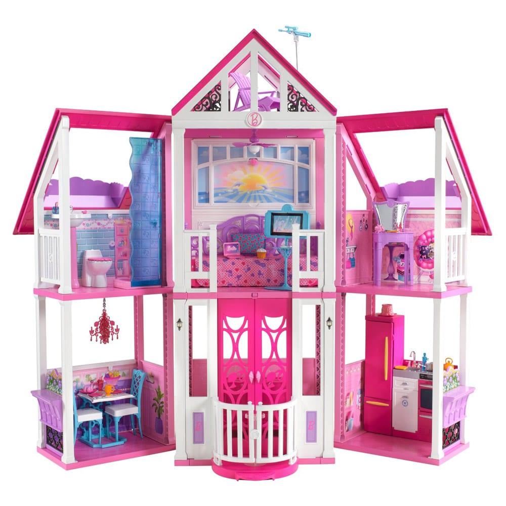 Casuta de papusi barbie california dream house for California dream house