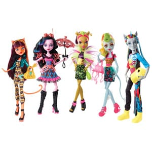 colectia Monster High Freaky Fusion