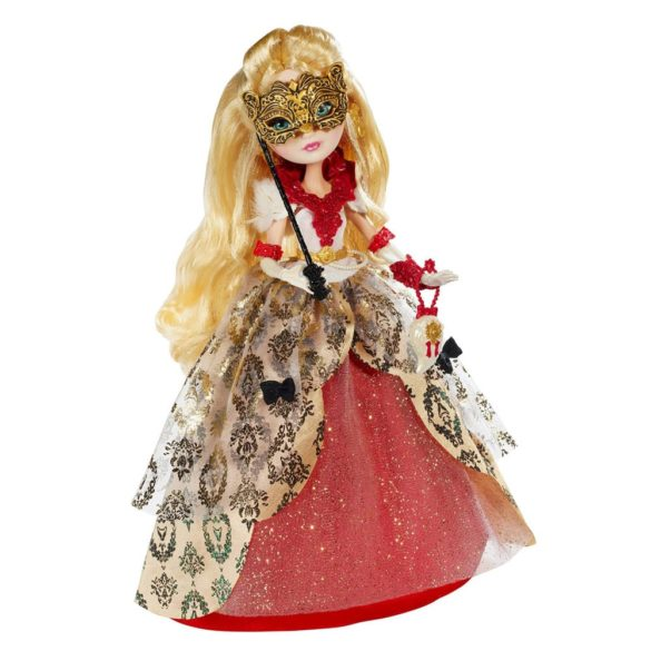ever after high papusa apple white colectia thronecoming 2