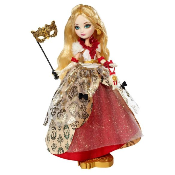 ever after high papusa apple white colectia thronecoming 3