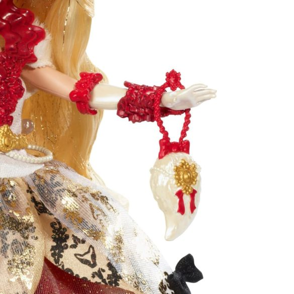ever after high papusa apple white colectia thronecoming 4