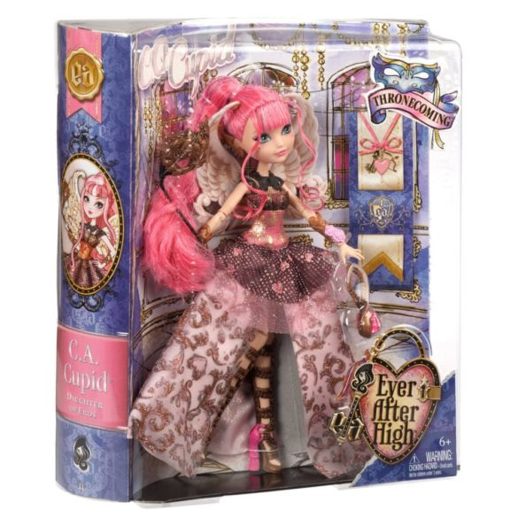 ever after high papusa c.a. cupid colectia thronecoming 6