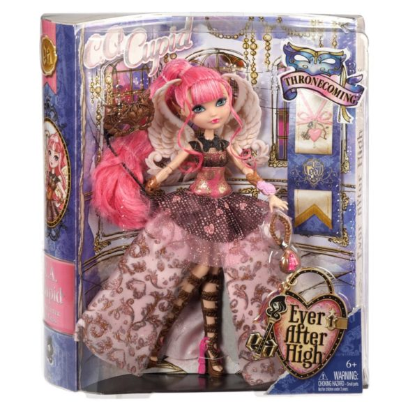ever after high papusa c.a. cupid colectia thronecoming 7
