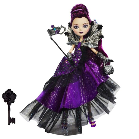 ever after high papusa raven queen colectia thronecoming 1