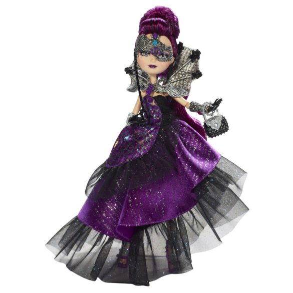 ever after high papusa raven queen colectia thronecoming 6
