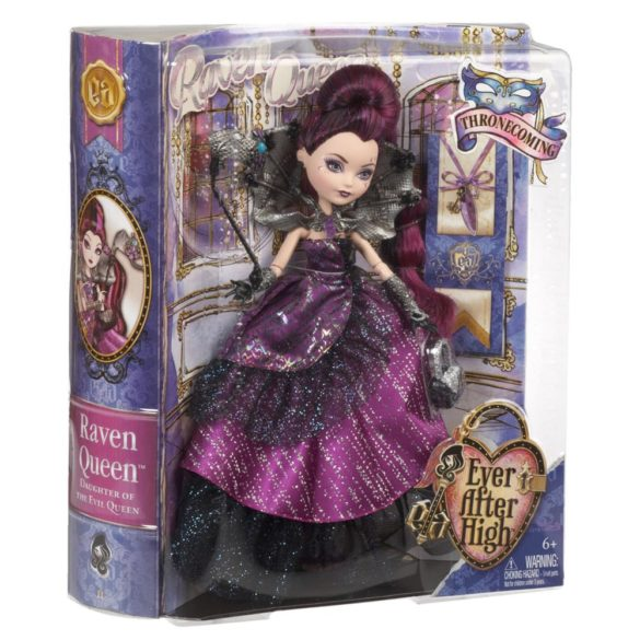 ever after high papusa raven queen colectia thronecoming 7