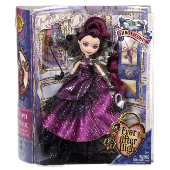 ever after high papusa raven queen colectia thronecoming 8