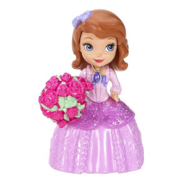 figurina sofia in rochie roz 1