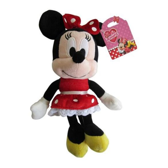 mascota de plus i love minnie rosie