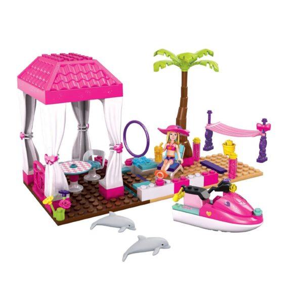 mega bloks barbie statiunea tropicala 8