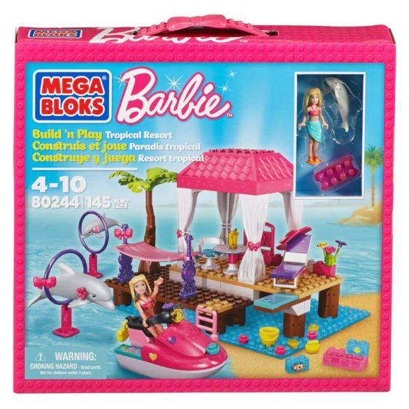 mega bloks barbie statiunea tropicala 9