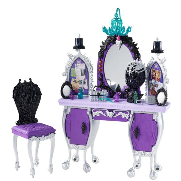 mobilier ever after high dormitorul rebel raven queen 1