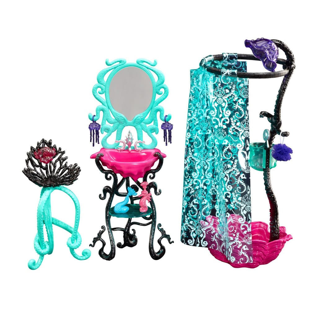 Monster High Accesorii Cabina de Dus Lagoona Blue
