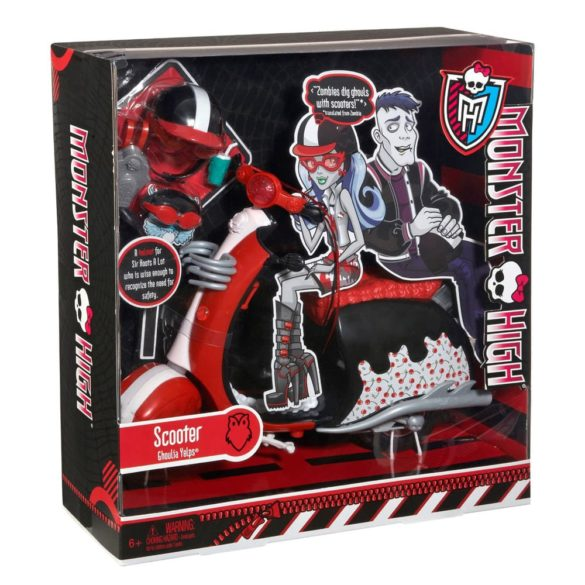 monster high accesorii scuter ghoulia yelps 5