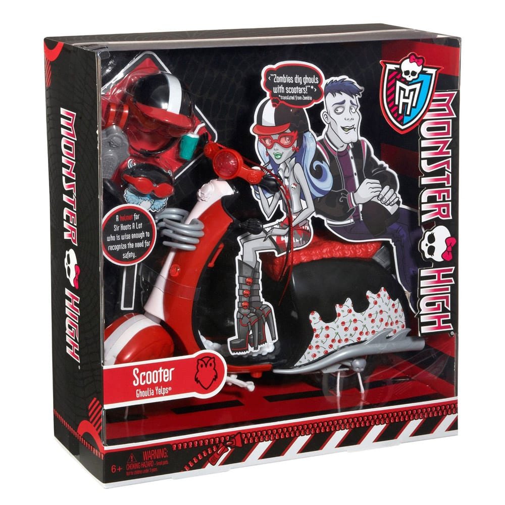 monster high accesorii scuter ghoulia yelps totorel ro
