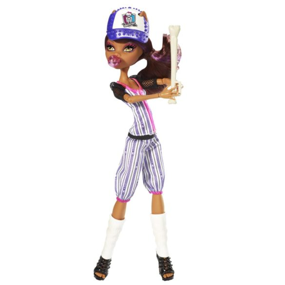 monster high colectia ghoul sports papusa clawdeen wolf 1