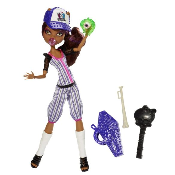 monster high colectia ghoul sports papusa clawdeen wolf 2
