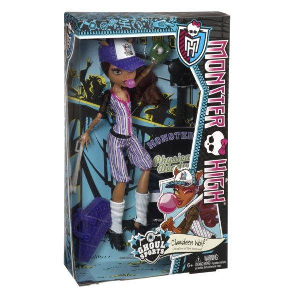 monster high colectia ghoul sports papusa clawdeen wolf 5