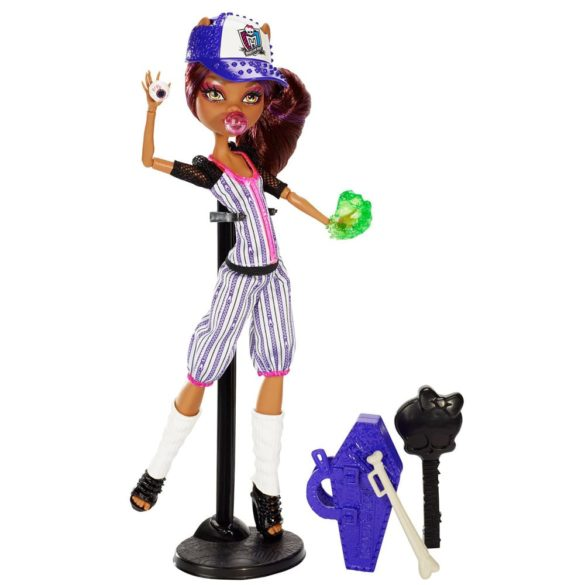 monster high colectia ghoul sports papusa clawdeen wolf 6