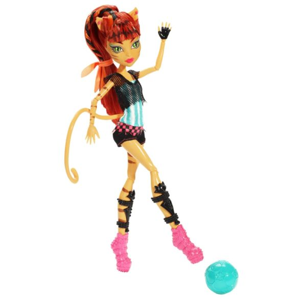 monster high colectia ghoul sports papusa toralei 2