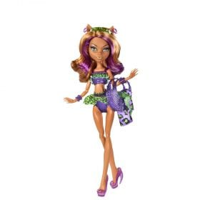 Monster High Colectia Swimsuit Clawdeen Wolf